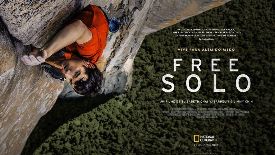 """O Aclamado Documentário """"Free Solo"""" Estreia a 17 de Março"""