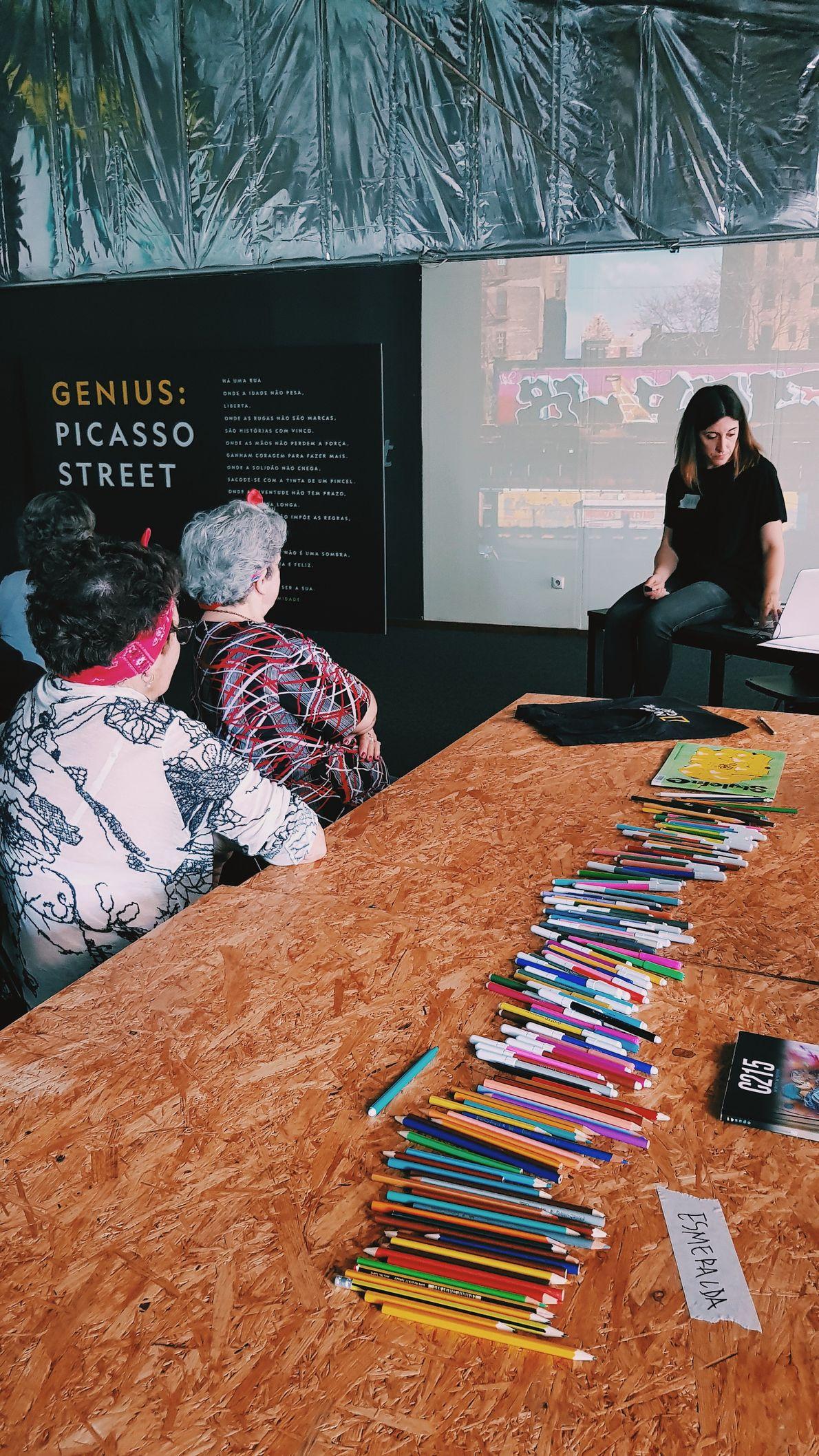 Workshops de arte urbana