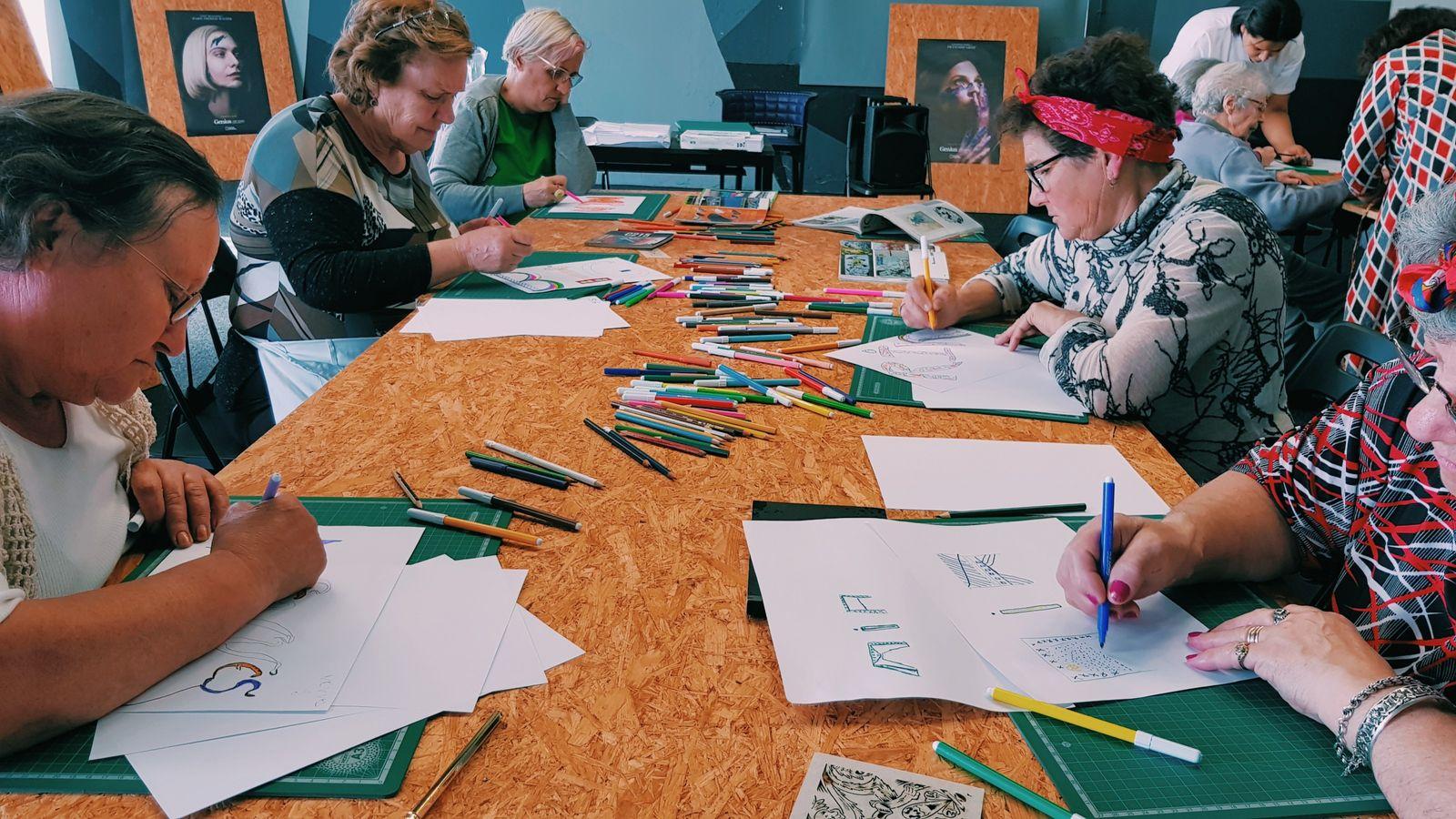 Workshops de Arte Urbana Para Idosos