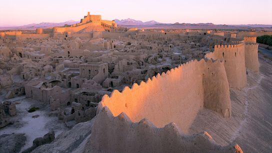 Antiga cidade de Bam, no Irão