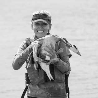 Lucy Hawkes, ecologista fisiológica e autora de mais de 60 artigos científicos sobre migração animal