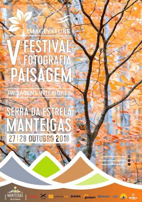 Imagem do cartaz do Festival de Fotografia de Paisagem, que decorre em - Manteigas.