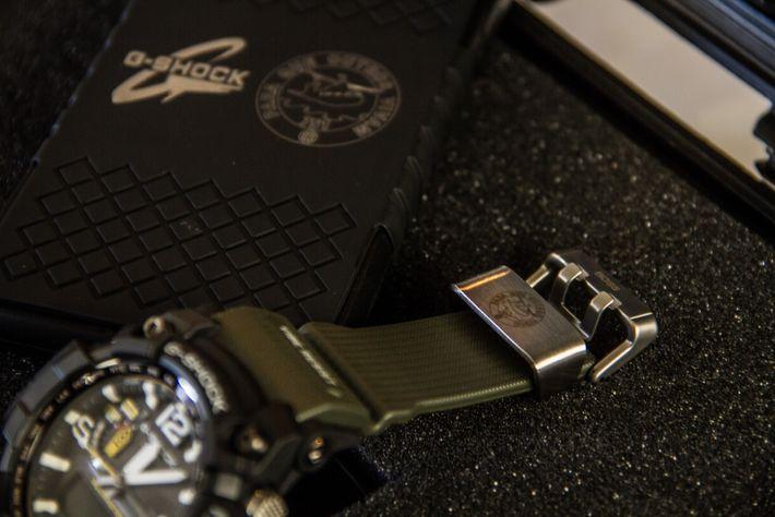 Relógio G-SHOCK Master of G Edição Limitada Esquadra 751