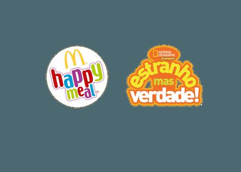 Conteúdo National Geographic em parceria com a McDonald's