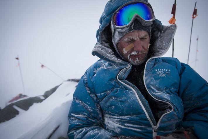 Fotografia de Mike Libecki numa das suas expedições