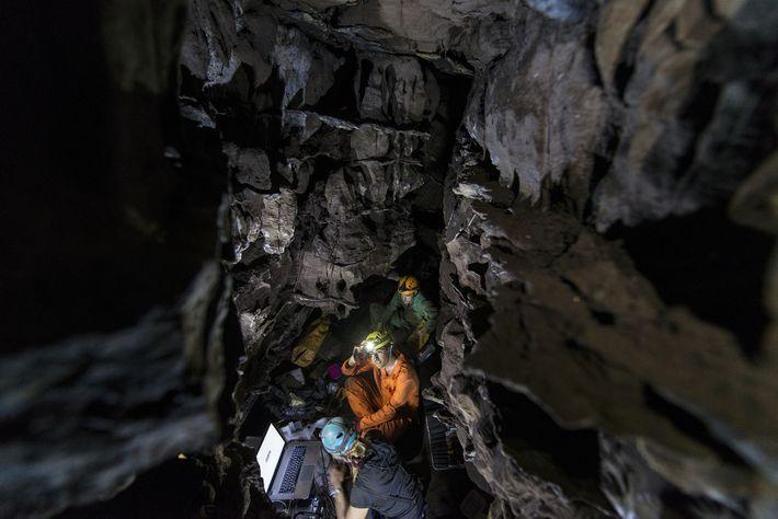 Exploração do Homo Naledi