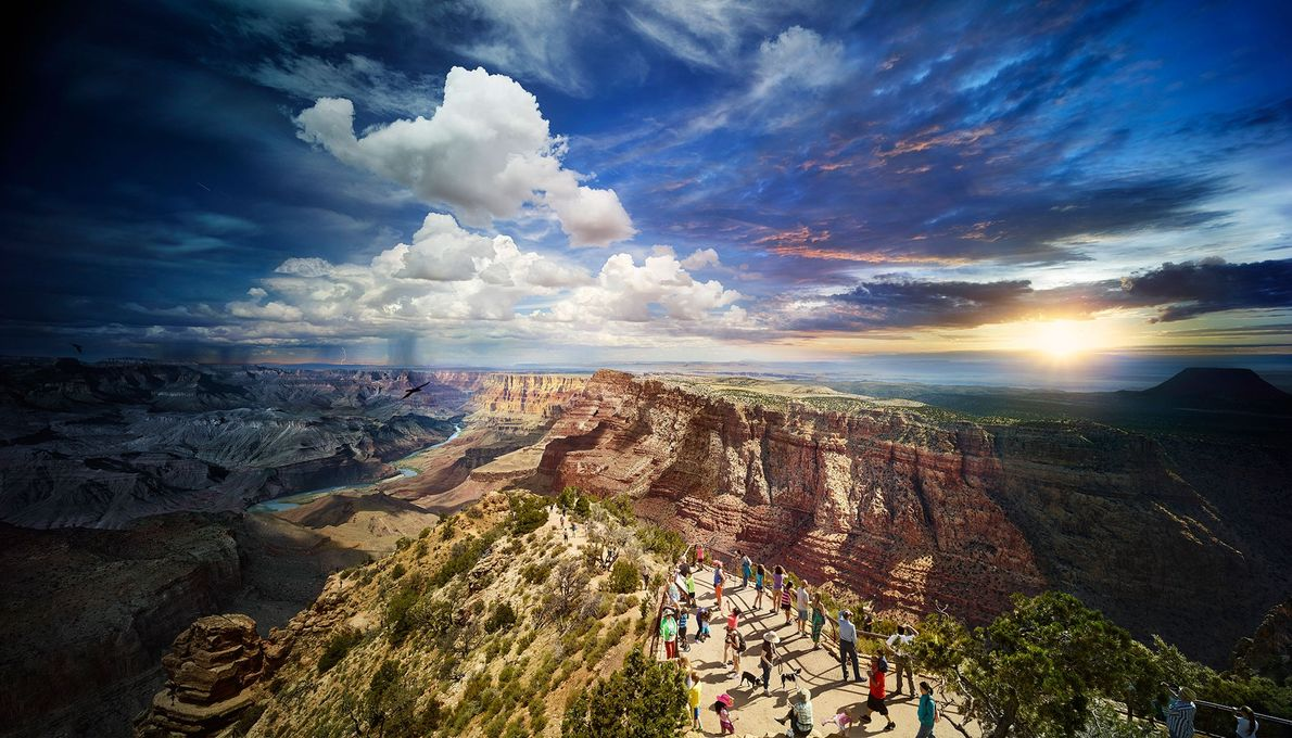 Orla Sul, Grand Canyon.