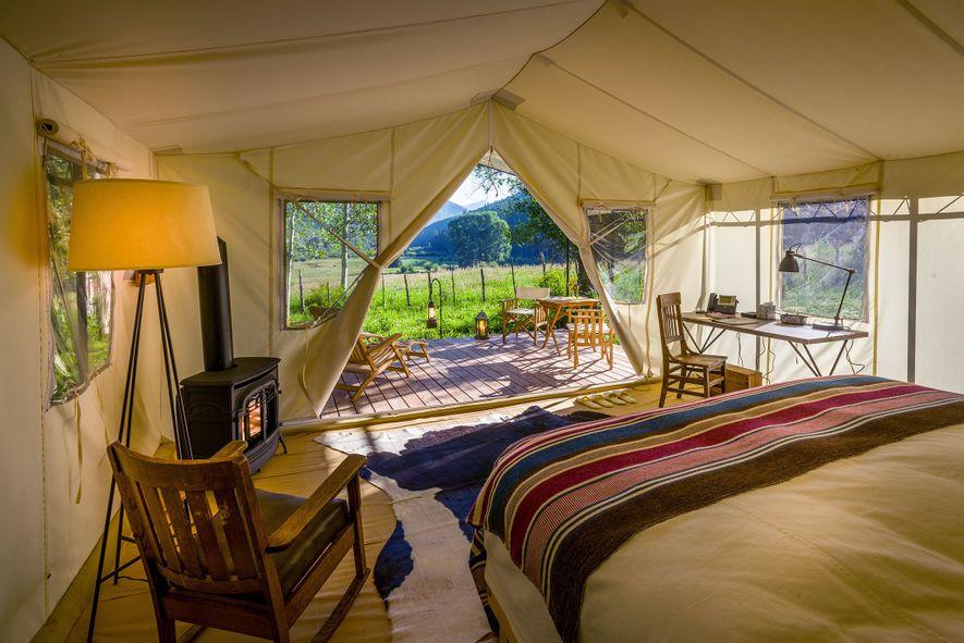 Tendas do Dunton River Camp
