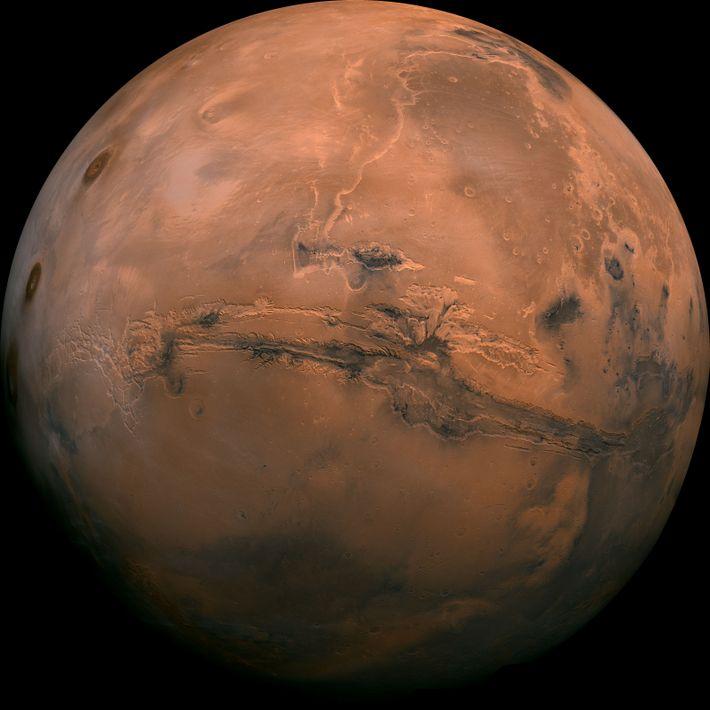 Observação de Marte