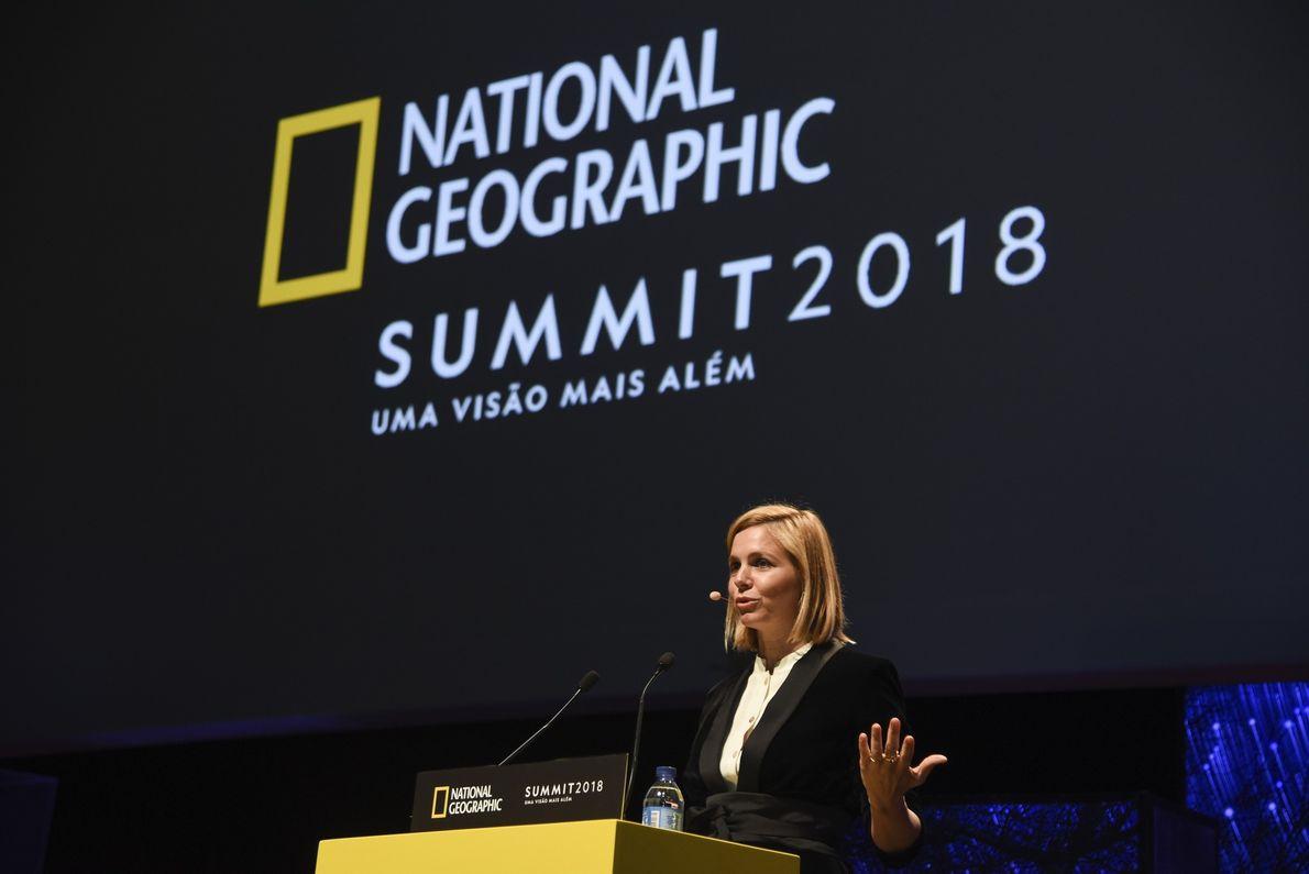 Mariana van Zeller no National Geographic Summit 2018