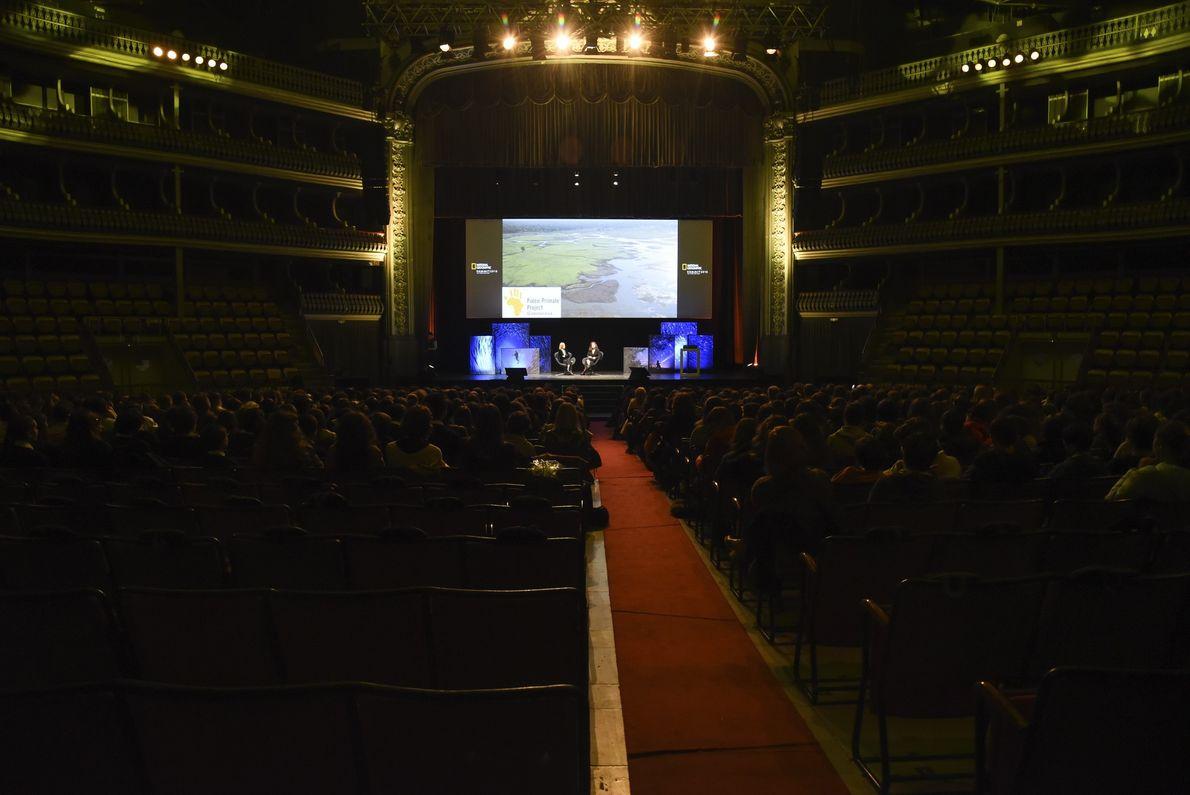 Panorama da sala da Coliseu dos Recreios