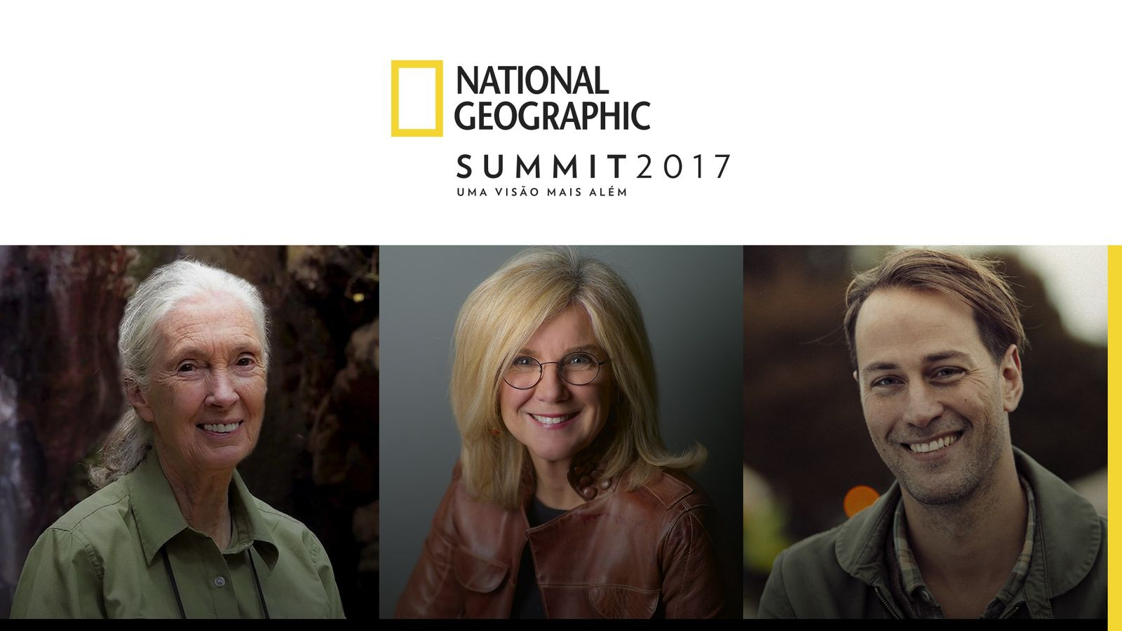 Oradores National Geographic Summit Lisboa