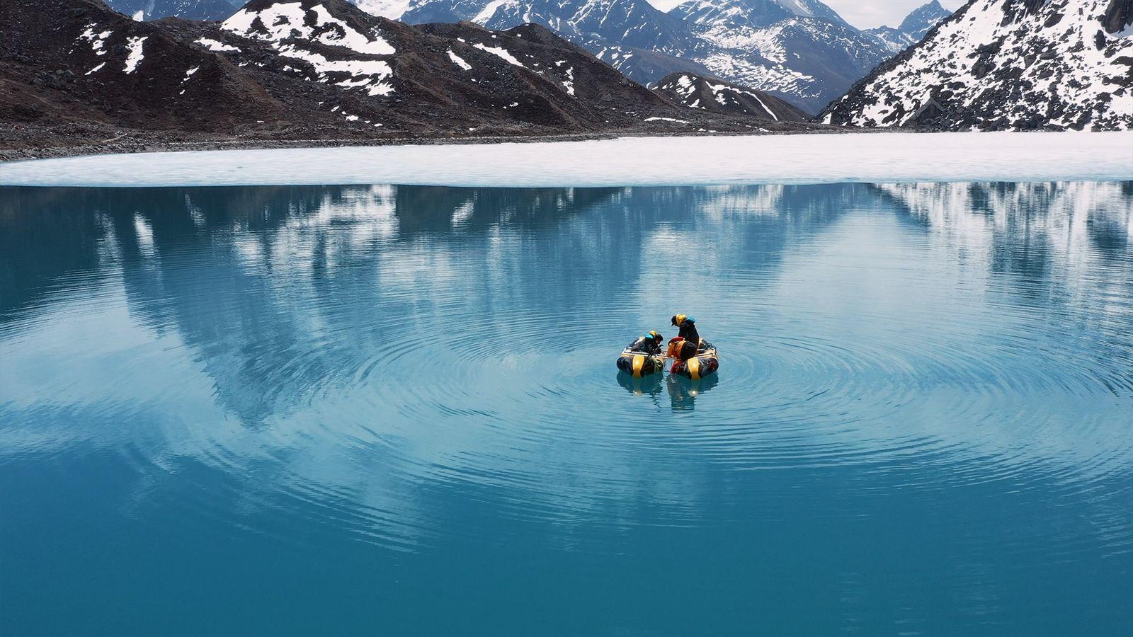 O que a Lama dos Lagos Glaciares nos Diz Sobre a Nossa história e o Nosso ...