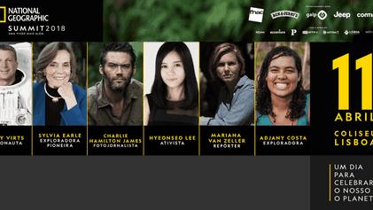 Conheça os Oradores do National Geographic Summit 2018
