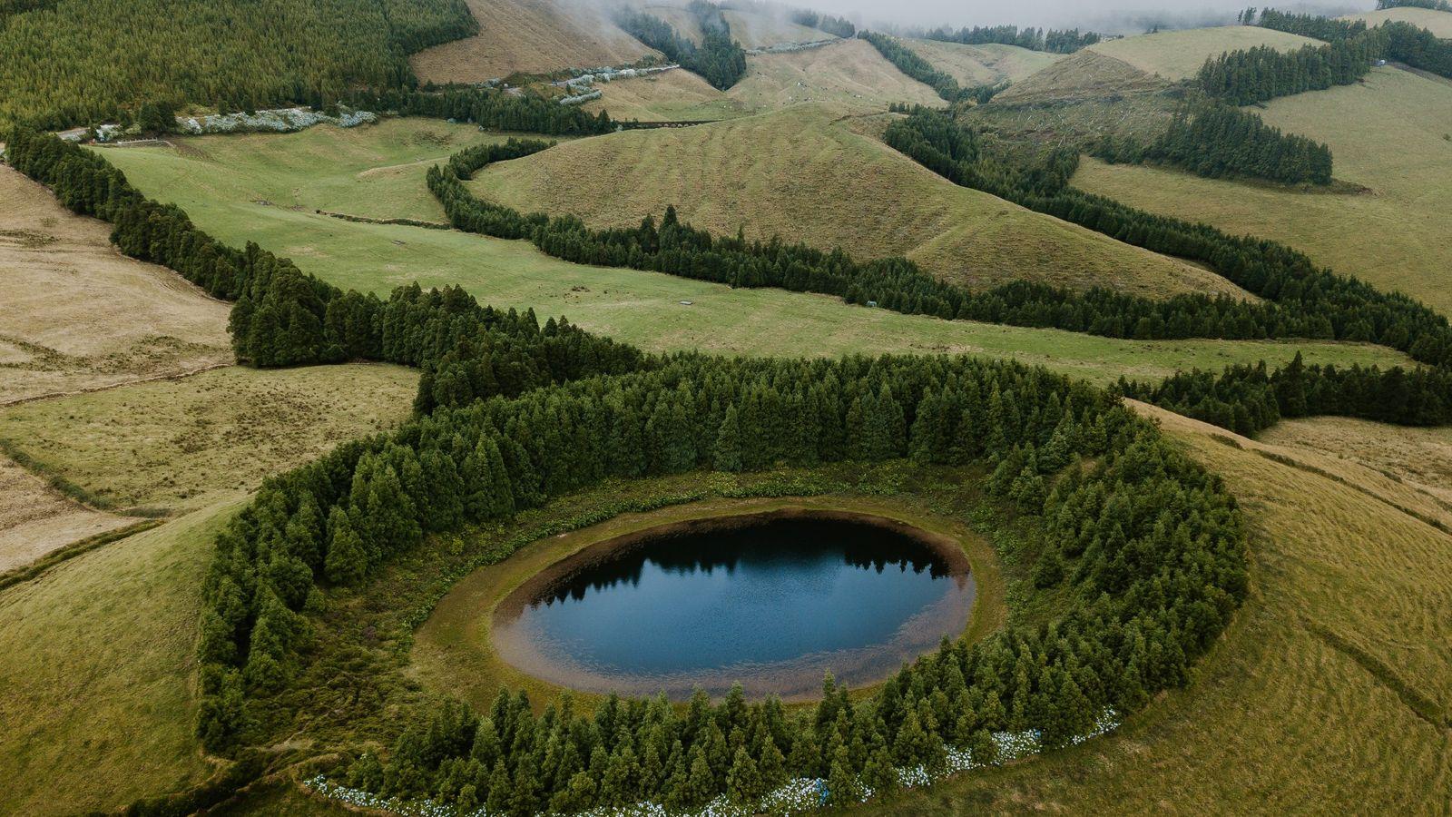 Fotografia da Lagoa de Pau Pique