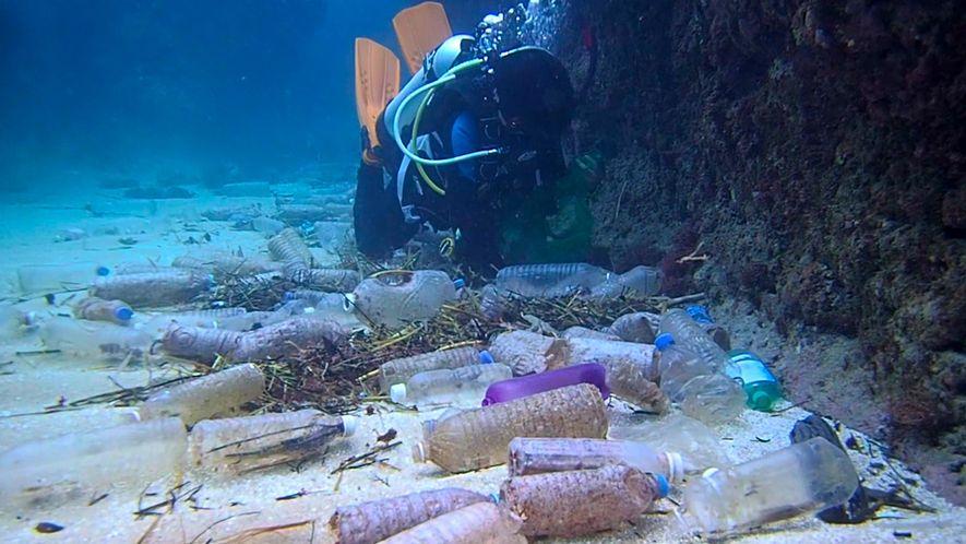 Eis a Quantidade de Lixo Plástico que Está a Poluir a Terra