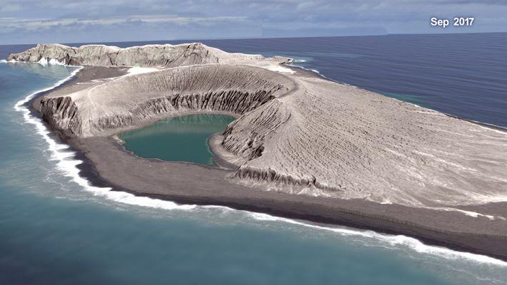Veja Uma Animação de Uma Erupção Vulcânica Produzida Pela NASA