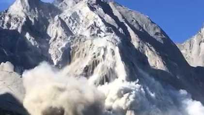 Veja: Avalanche e Deslizamento Atinge Cidade Suíça