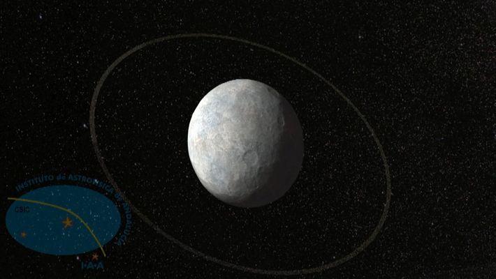 Animação: Encontrados Primeiros Anéis a Orbitar um Estranho Mundo Perto de Plutão