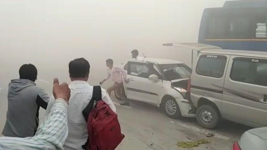 A Poluição na Índia é Tão Grave que Causa Acidentes de Viação