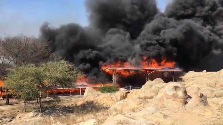 Vídeo: Um Incêndio Queima Antigo Templo Peruano
