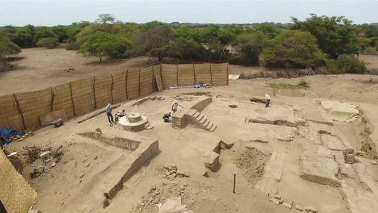 Antigo Trono e Salão Cerimonial Desenterrados no Peru