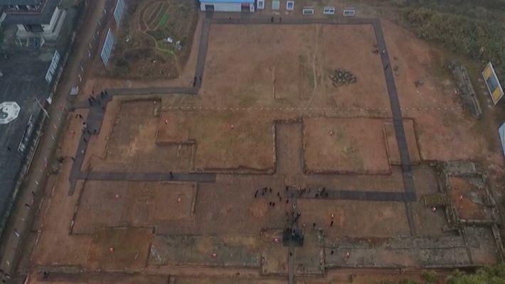 Veja Onde se Erguia um Antigo Templo Chinês