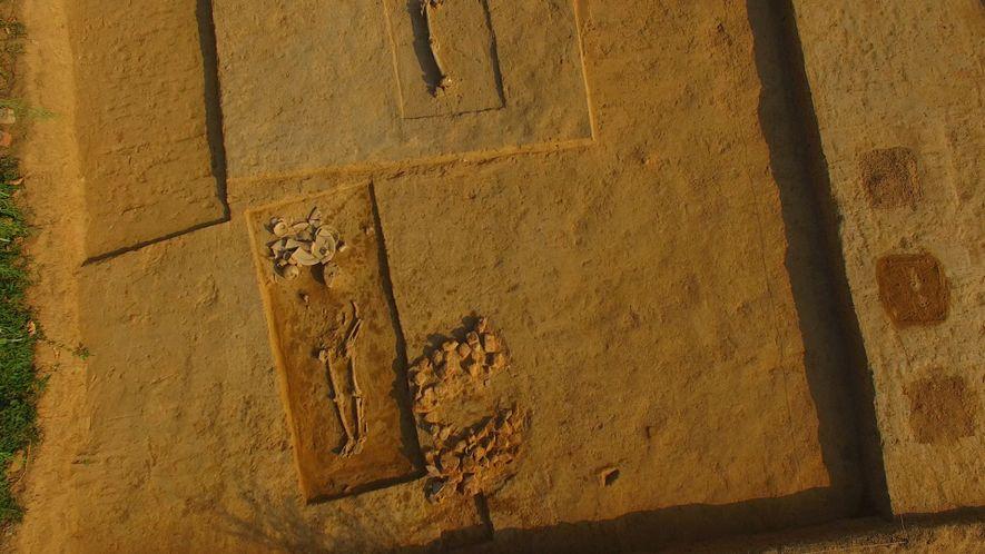 Desenterrado Cemitério de Civilização Antiga na Índia