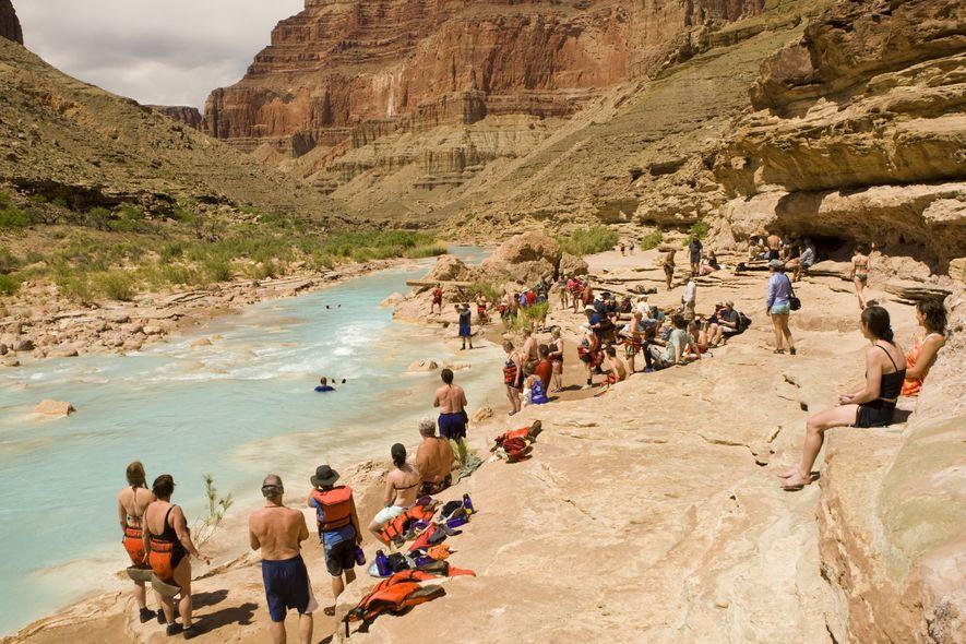 Pequeno rio do Colorado, Parque Nacional Grand Canyon, Arizona.