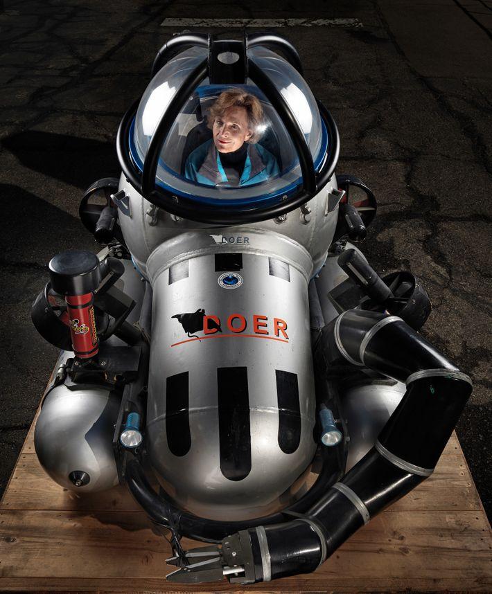Oceanógrafa Sylvia Earle