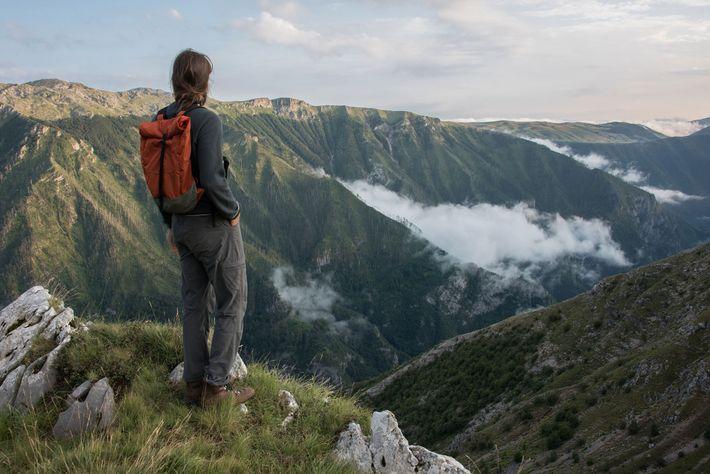 Montanhas centrais da Bósnia Herzegovina.