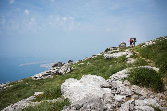 Montanhas de Velebit.