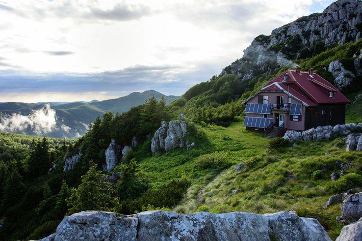 Cabana de Abrigo, Croácia