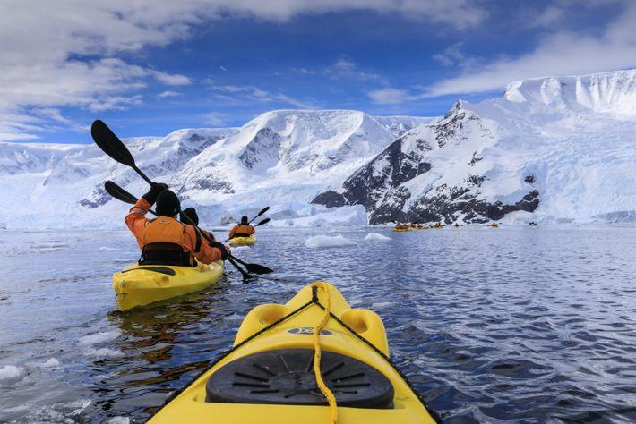Porto de Neko, Baía de Anvard, Antártica