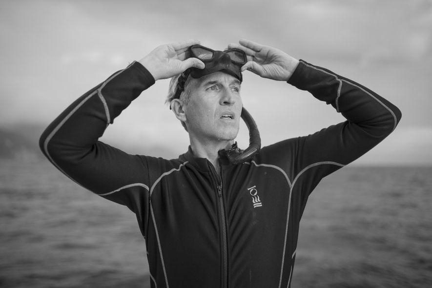 Brian Skerry, fotógrafo subaquático e uma das principais vozes para a conservação marinha