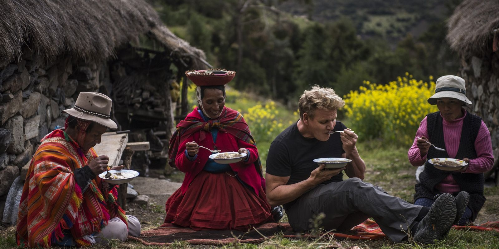 Gordon Ramsay Aventura-se no Vale Sagrado do Peru