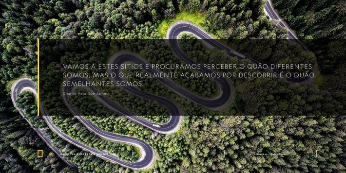 Charles Hamilton James National Geographic Summit Lisboa Quote