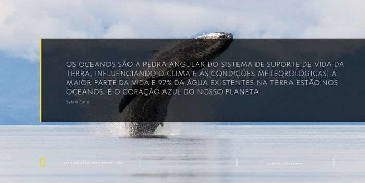 Sylvia Earle National Geographic Summit Lisboa Quote