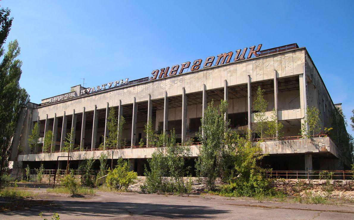 Palácio da Cultura, em Pripyat.