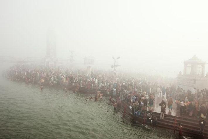 Rio Ganges Poluição