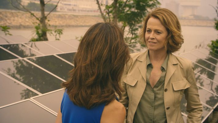 Sigorney weaver The changing in China