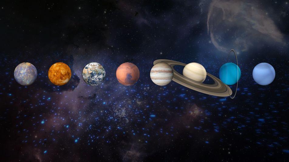 Factos sobre o Sistema Solar