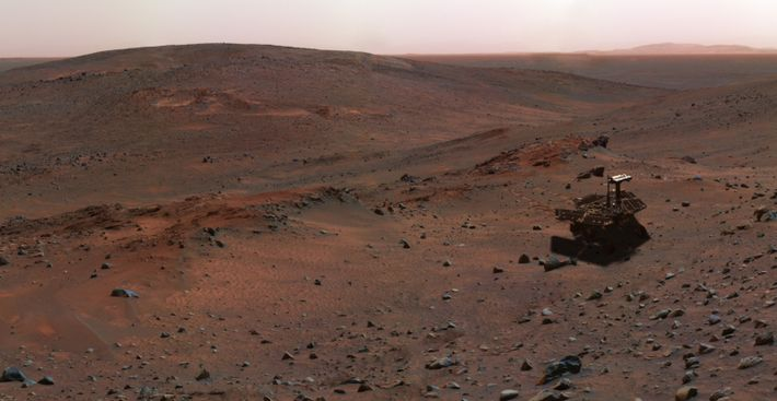 Montanha em Marte