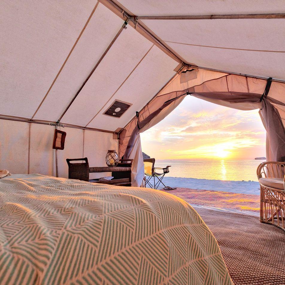 7 Fotografias de Acampamentos de Luxo
