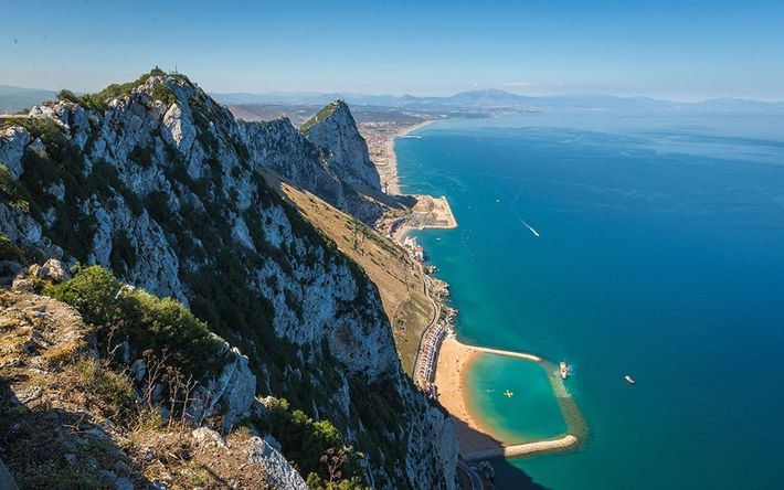Imagem da Reserva Natural de Gibraltar
