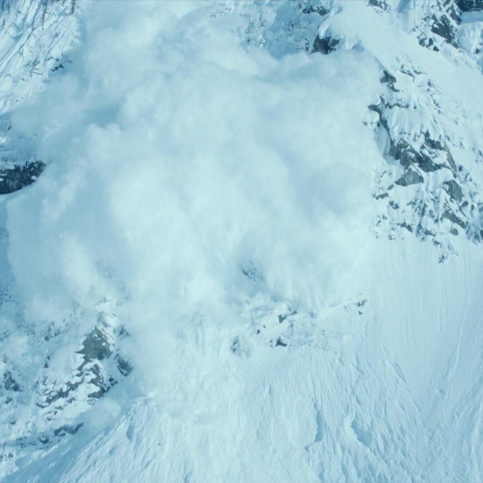Veja Imagens Hipnotizantes de Uma Avalanche