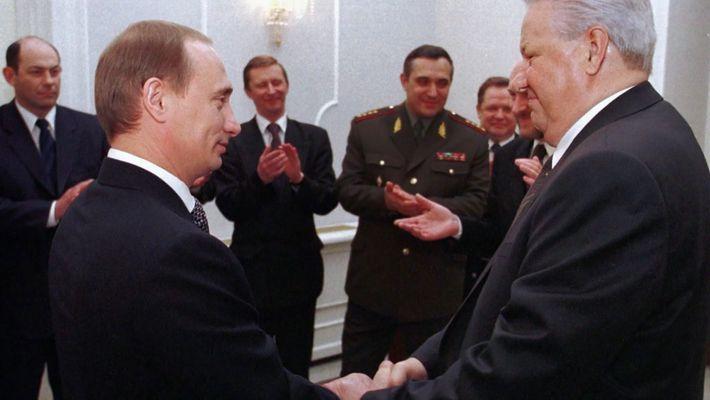 Why Yeltsin choose Putin