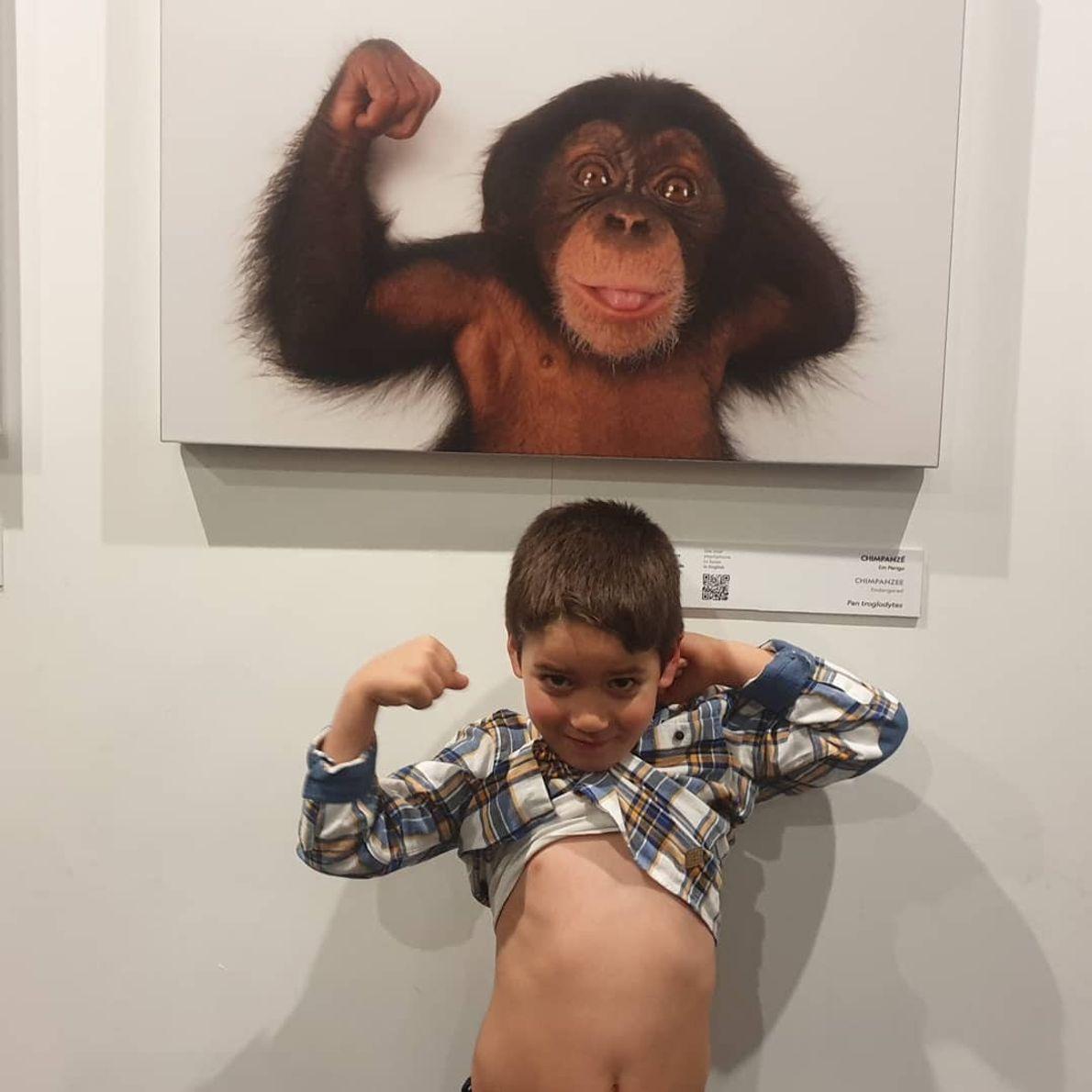 Imagem da vencedora @a_roque00 na exposição Photo Ark