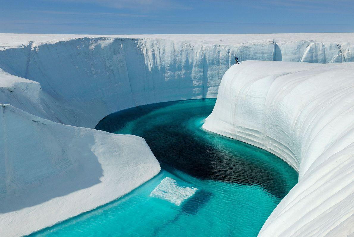 21 Aventuras Únicas no Gelo: Birthday Canyon, Gronelândia