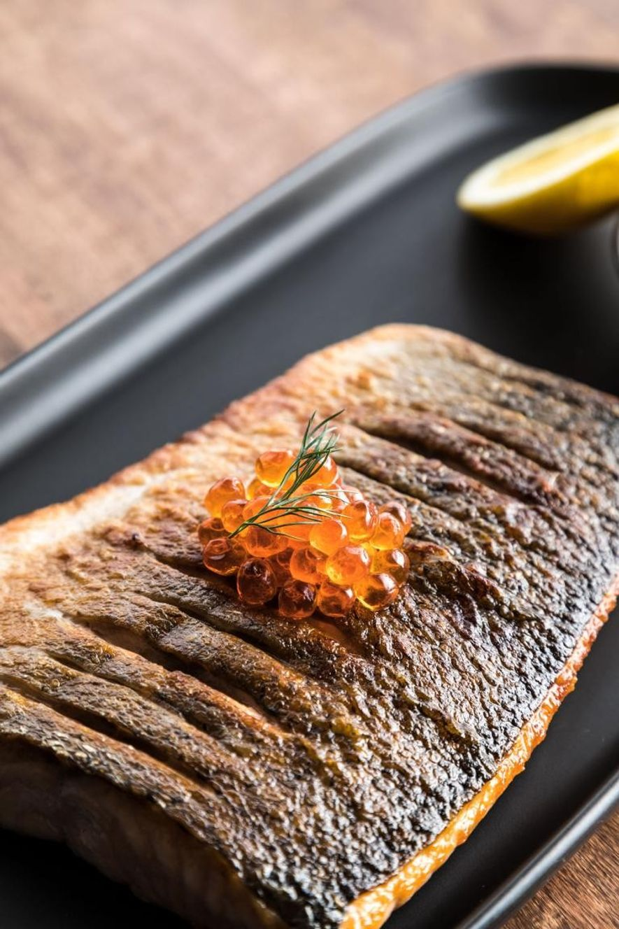 Imagem do prato inspirado nas aventuras de Ramsay pelo Alasca.